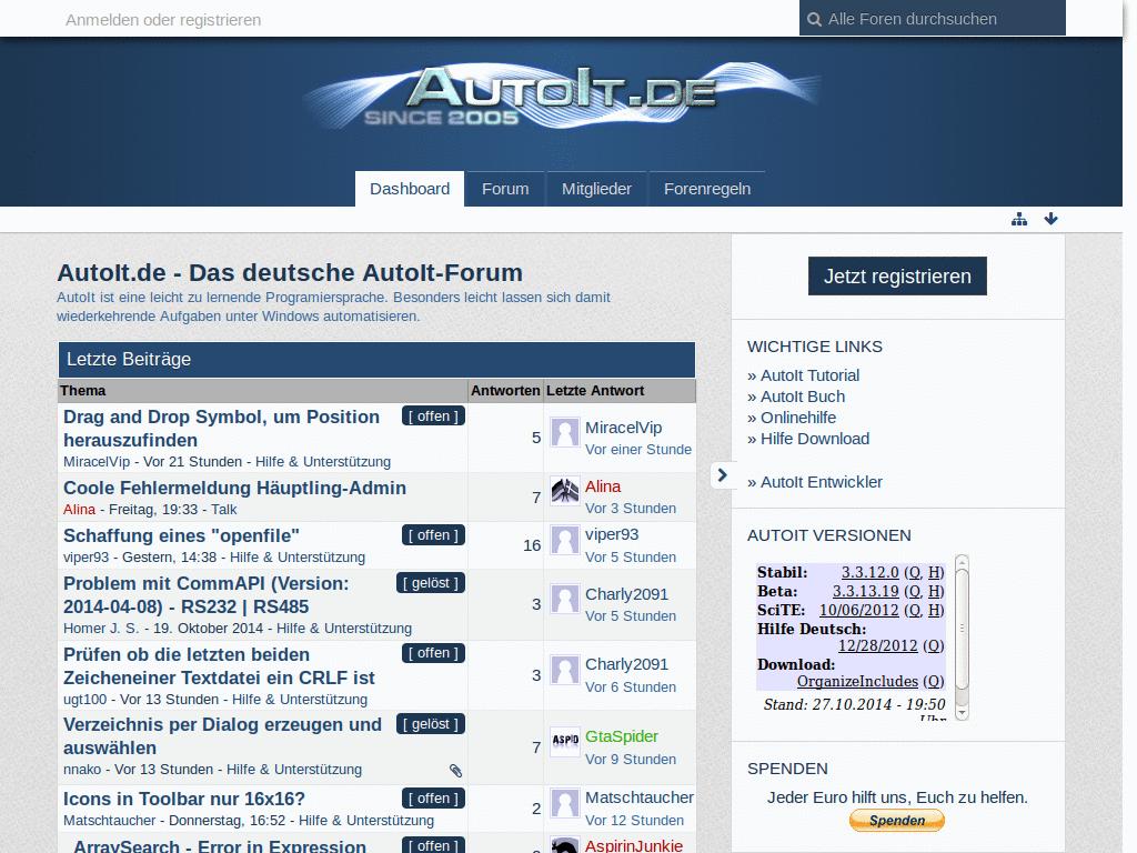 Autoit Login To Website
