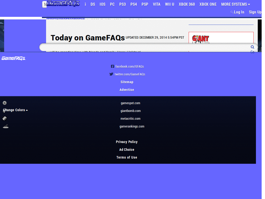 Gamefaqs Themes & Skins   Userstyles org