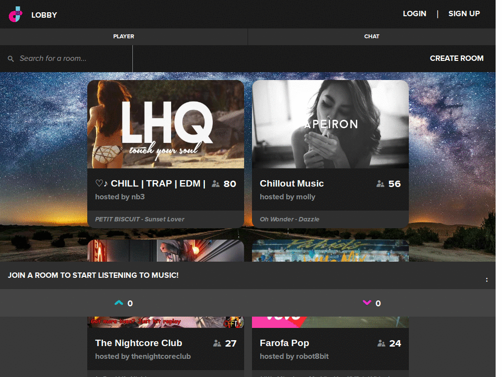 Dubtrack Themes & Skins | Userstyles org