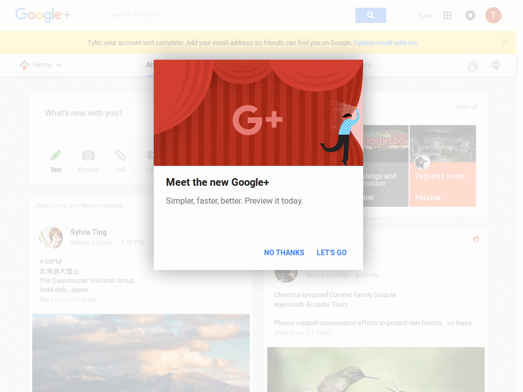 Google themes.org - G Cool Panel