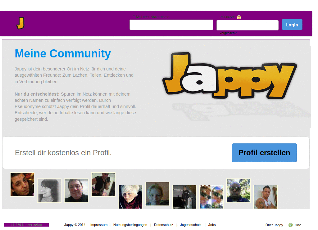 reastphatili: Jappy profil login