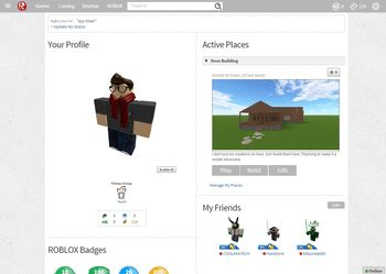ROBLOX Silver Layout - Themes and Skins for Roblox ...