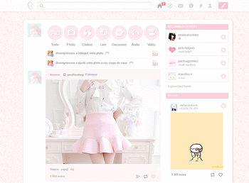 Tumblr themes and skins