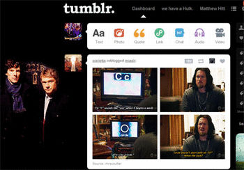 how to change your tumblr dashboard theme