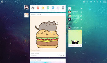 how to change tumblr background dashboard