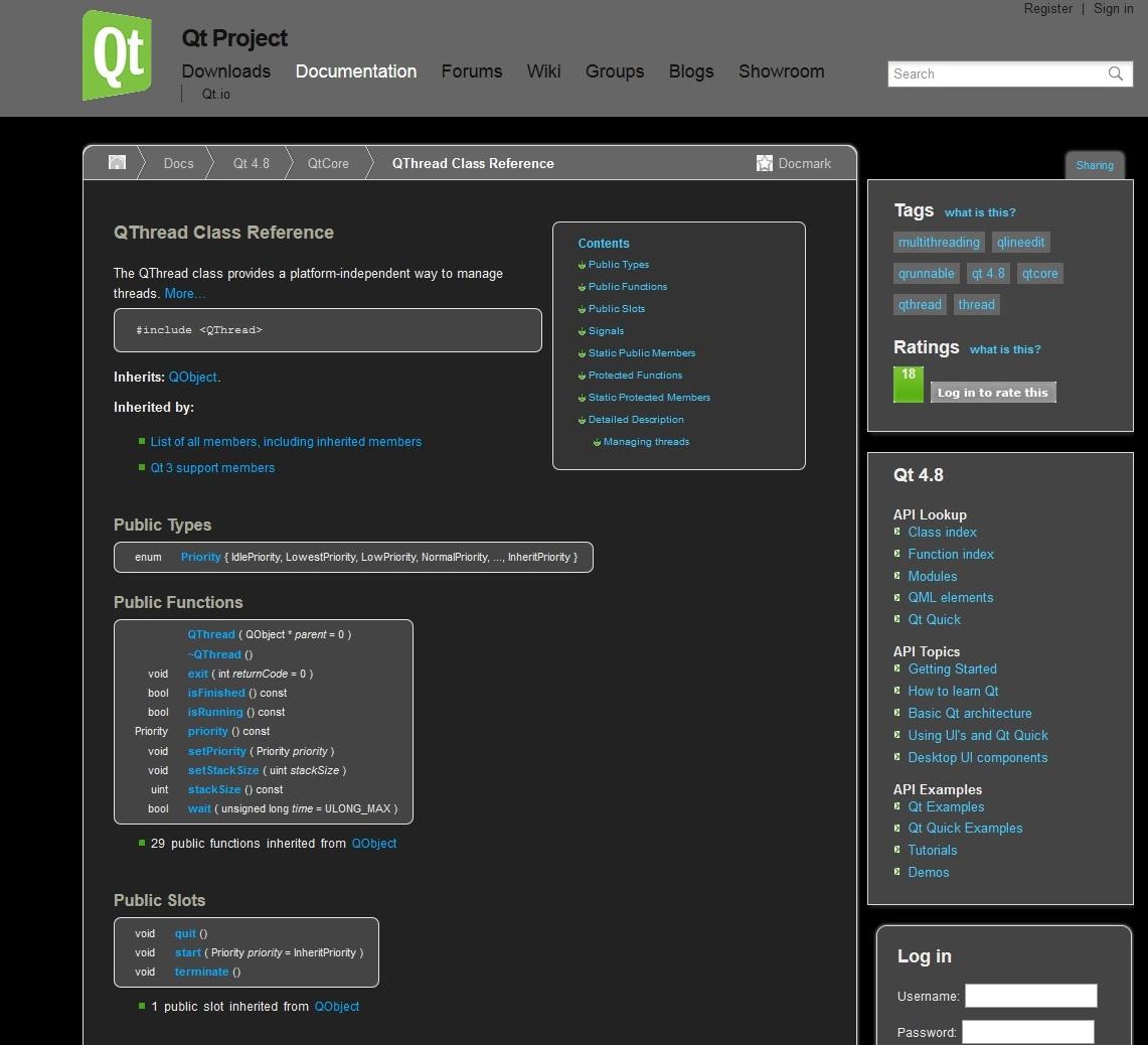 Qt-project dark   Userstyles org