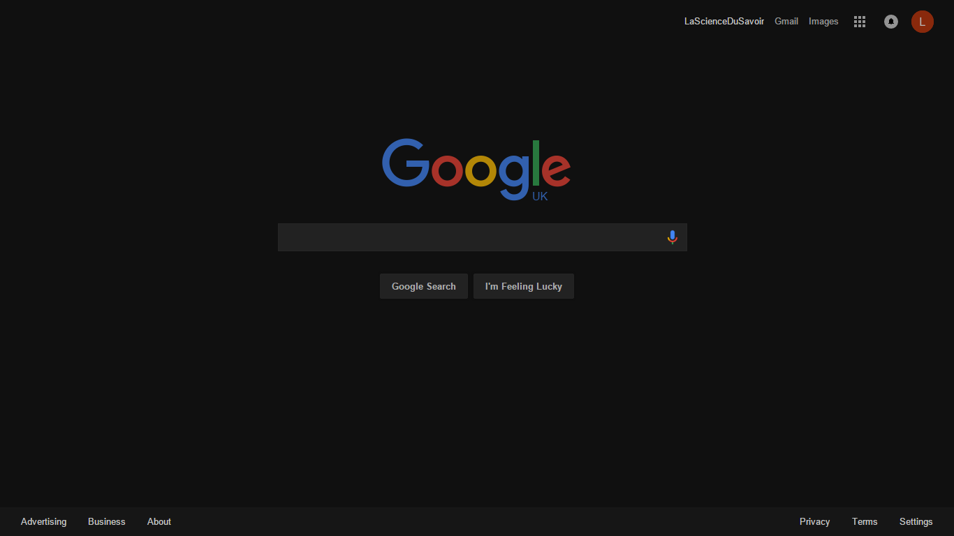 Google themes userstyles