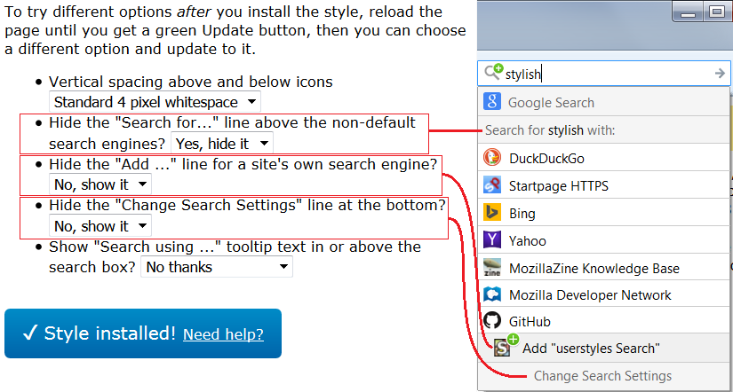catch the movie firefox old search bar vs restyled new bar additional images vertical spacing options difference