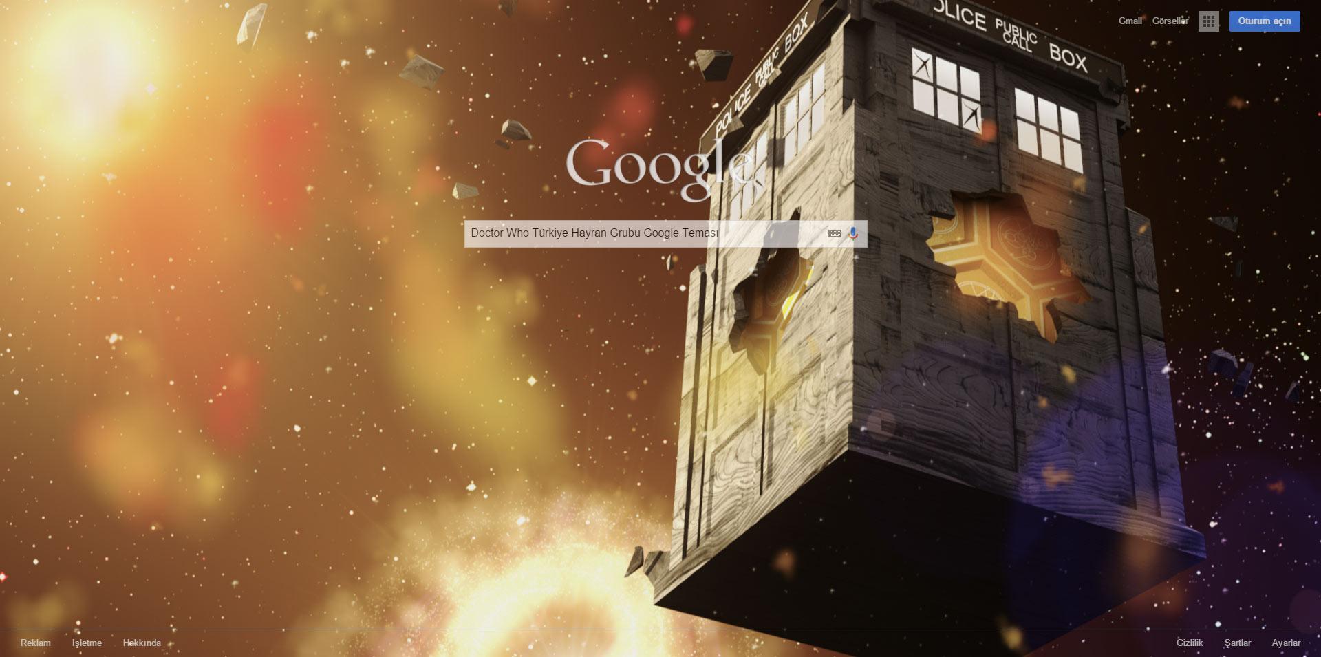 Google themes doctor who - Doctor Who T Rkiye Hayran Grubu Google Temas