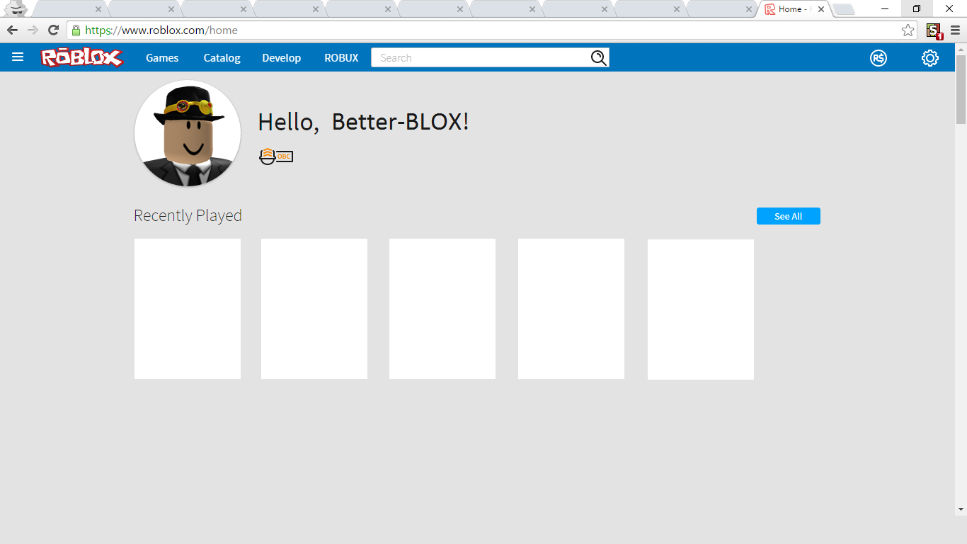 Full Old Roblox Logo Userstyles Org