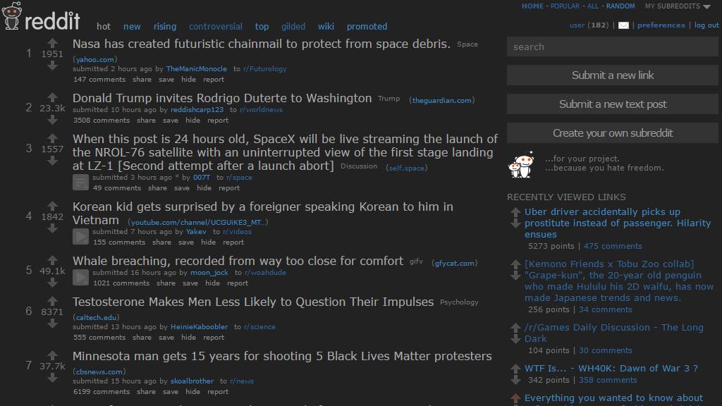 Reddit Minimal Dark | Userstyles org