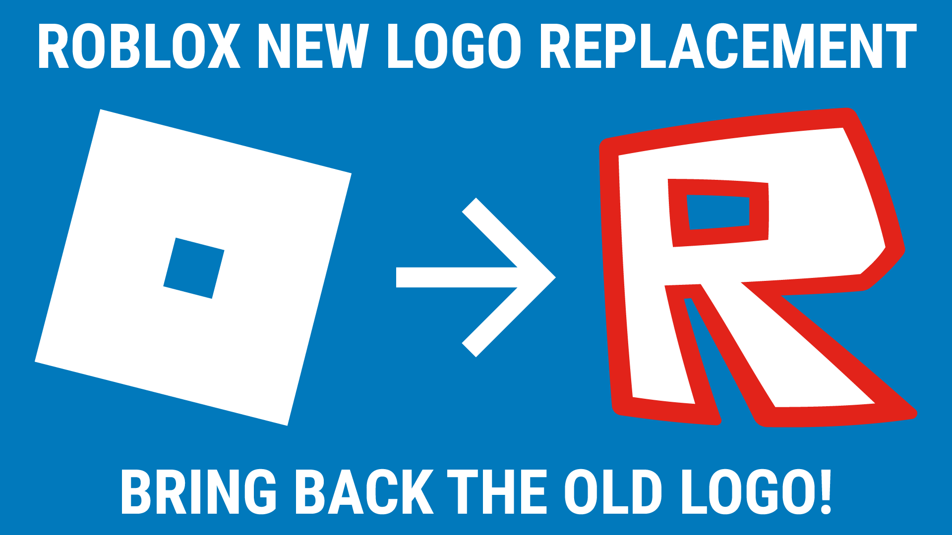 Roblox Fotos Logo Roblox New Logo Replacement Userstyles Org
