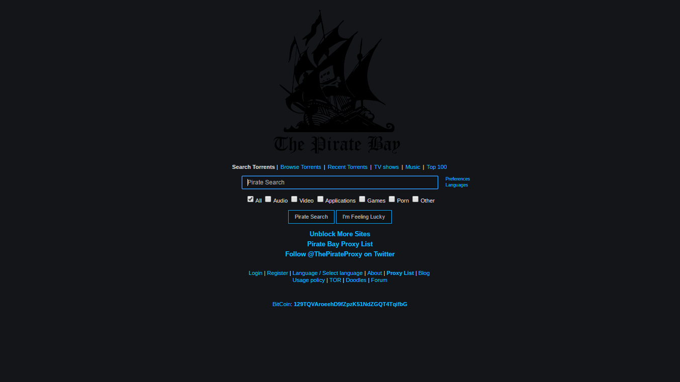 thepiratebay se top 400