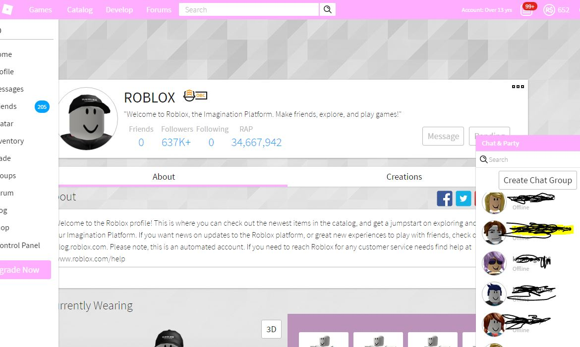 Light Pink Roblox Theme Userstyles Org