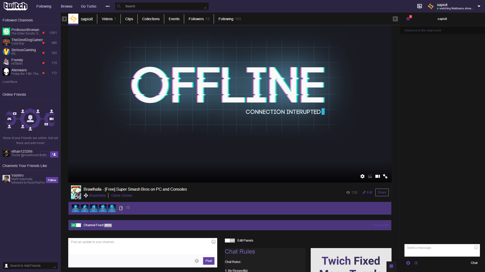 Twitch Themes & Skins | Userstyles.org
