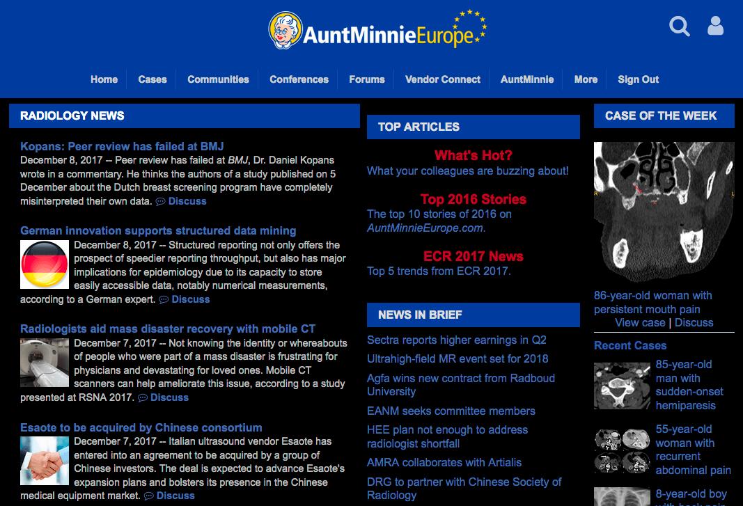 試作影像醫學網站的 Dark Theme Userstyle 2