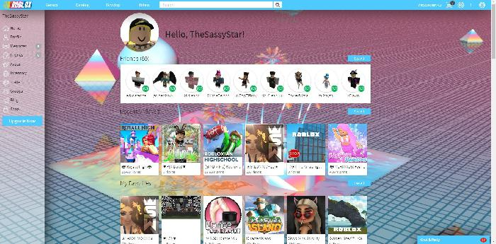 Girly ROBLOX Theme*+.? - Userstyles.org