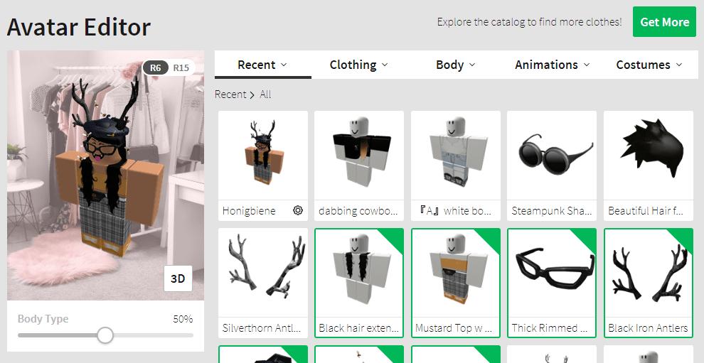 Roblox Avatar Customization Theme Userstyles Org