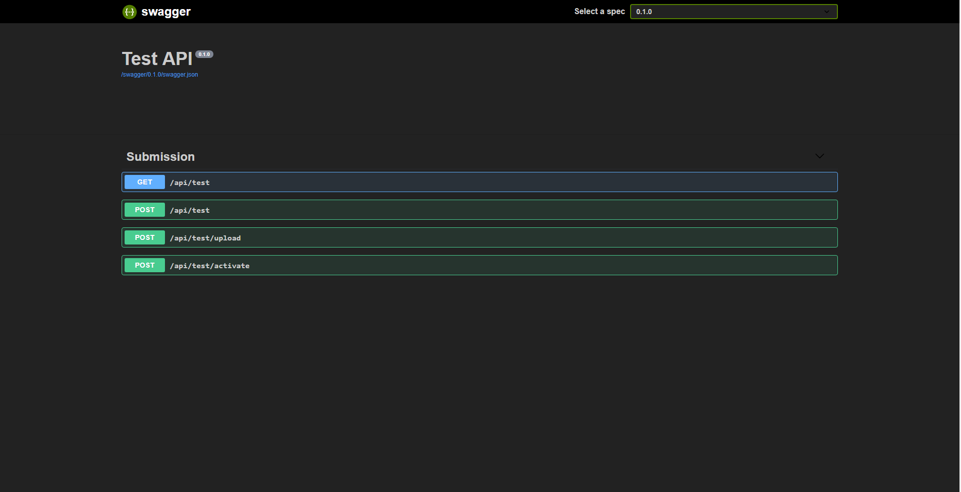 Swagger Dark Theme | Userstyles org