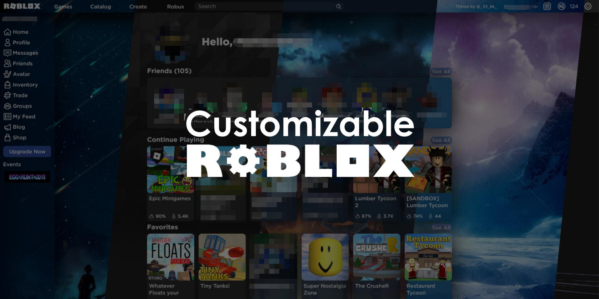 Customizable Roblox [READ DESCRIPTION] | Userstyles org