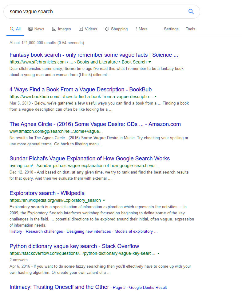 Complete Google Search Font Fix | Userstyles org