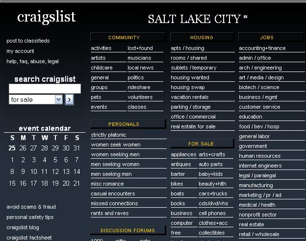 Salt lake women seeking men